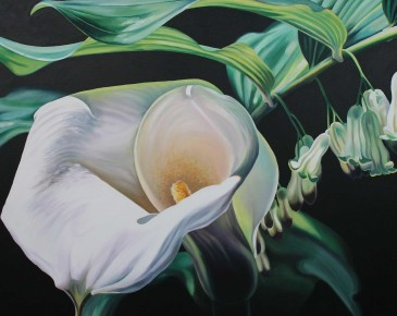 Calla Lily and Solomon's Seal
